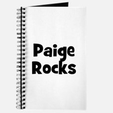 Paige Rocks Journal