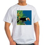 Toucan Jungle Ash Grey T-Shirt