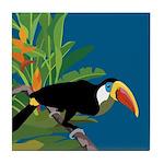 Toucan Jungle Tile Coaster