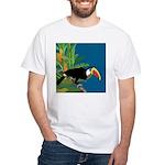Toucan Jungle White T-Shirt