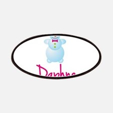 Daphne the snow woman Patches