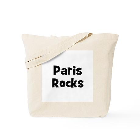Paris Rocks Tote Bag