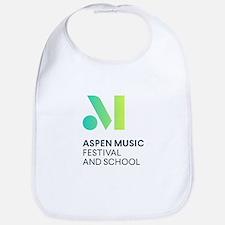 Aspen Music Festival and School Logo Baby Bib