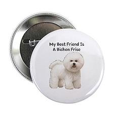 """Bichon Frise 2.25"""" Button"""