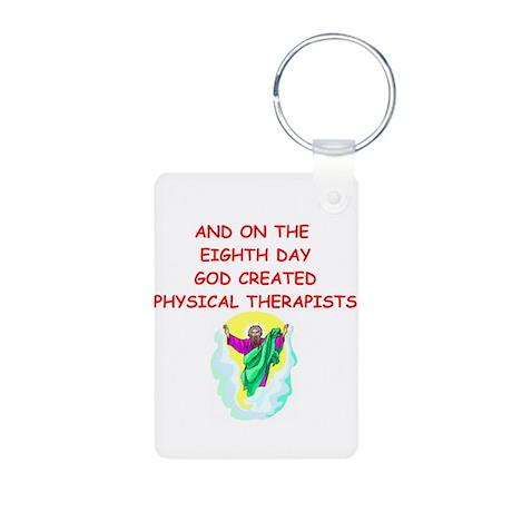 physical therapists Aluminum Photo Keychain