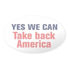 Take Back America Decal