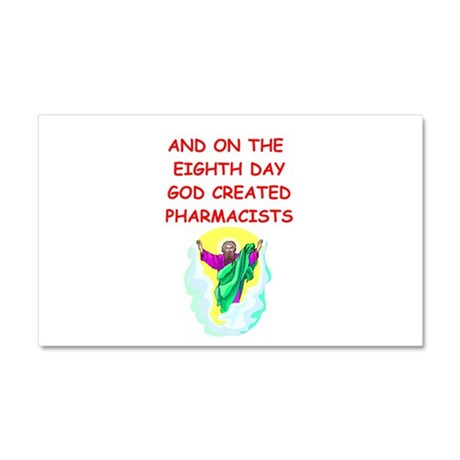pharmacists Car Magnet 20 x 12
