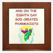 pharmacists Framed Tile