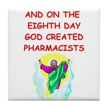 pharmacists Tile Coaster