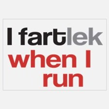 I Fartlek Poster And Wall