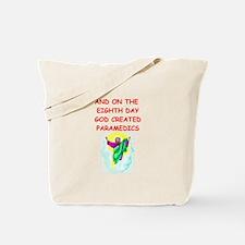 paramedics Tote Bag
