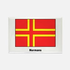 Norman Ancestry Flag Rectangle Magnet