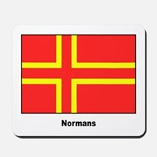 Norman Ancestry Flag Mousepad
