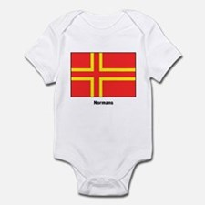 Norman Ancestry Flag Infant Creeper
