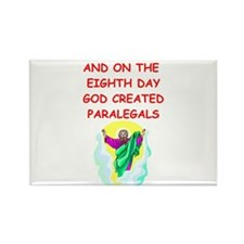 paralegals Rectangle Magnet