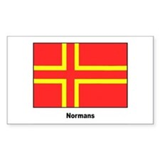 Norman Ancestry Flag Rectangle Decal