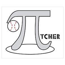 Baseball Pi-tcher Poster