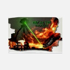 war of the worlds Rectangle Magnet