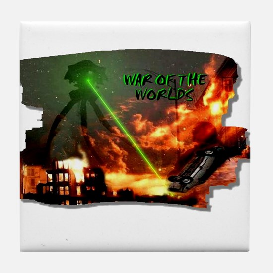 war of the worlds Tile Coaster
