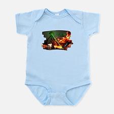 war of the worlds Infant Bodysuit