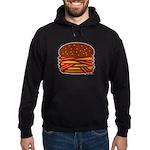 Bacon QUAD! Hoodie (dark)