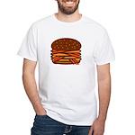 Bacon QUAD! White T-Shirt