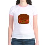 Bacon QUAD! Jr. Ringer T-Shirt