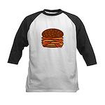 Bacon QUAD! Kids Baseball Jersey