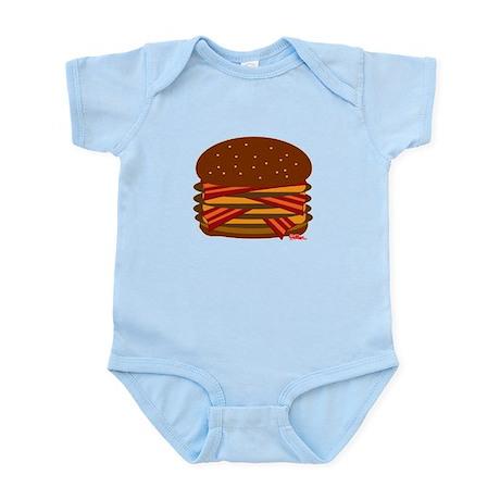 Bacon QUAD! Infant Bodysuit