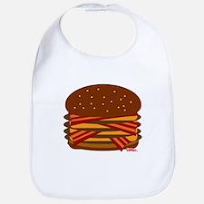 Bacon QUAD! Bib