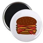 Bacon QUAD! Magnet