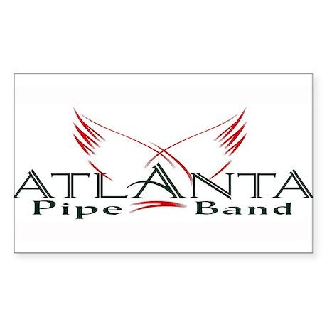 Atlanta Pipe Band Rectangle Sticker