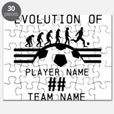 Customizable Soccer Puzzle