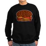 Bacon DOUBLE Cheese! Sweatshirt (dark)