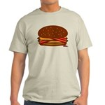 Bacon DOUBLE Cheese! Light T-Shirt