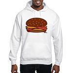 Bacon DOUBLE Cheese! Hooded Sweatshirt