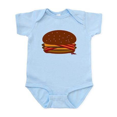 Bacon DOUBLE Cheese! Infant Bodysuit