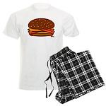 Bacon DOUBLE Cheese! Men's Light Pajamas