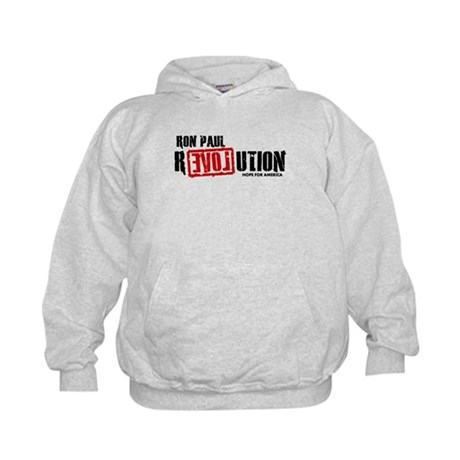 Ron Paul Revolution Kids Hoodie
