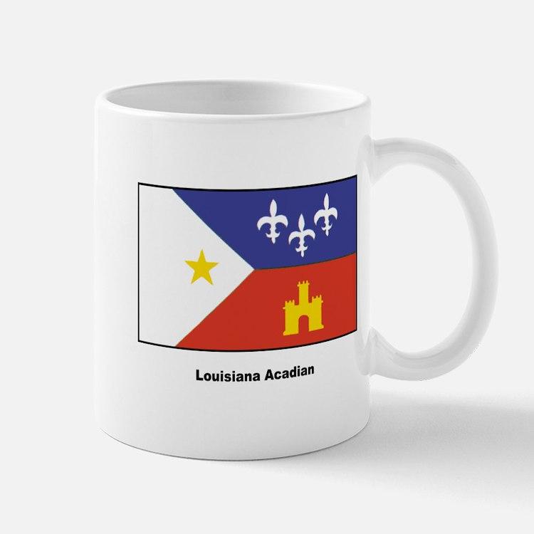 Louisiana Acadian Flag Mug