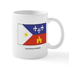 Louisiana Acadian Flag Small Mug