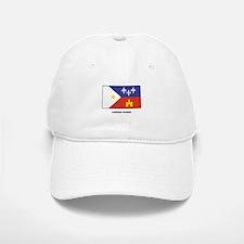 Louisiana Acadian Flag Baseball Baseball Cap