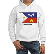 Louisiana Acadian Flag Hoodie