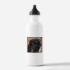 Male Newfie Landseer Sports Water Bottle