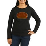 Cheeseburger - The Single! Women's Long Sleeve Dar