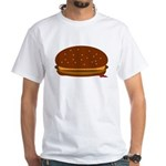 Cheeseburger - The Single! White T-Shirt