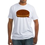 Cheeseburger - The Single! Fitted T-Shirt