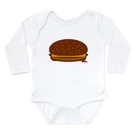 Cheeseburger - The Single! Long Sleeve Infant Body