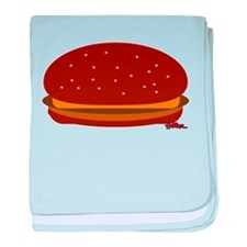Cheeseburger - The Single! baby blanket
