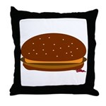 Cheeseburger - The Single! Throw Pillow
